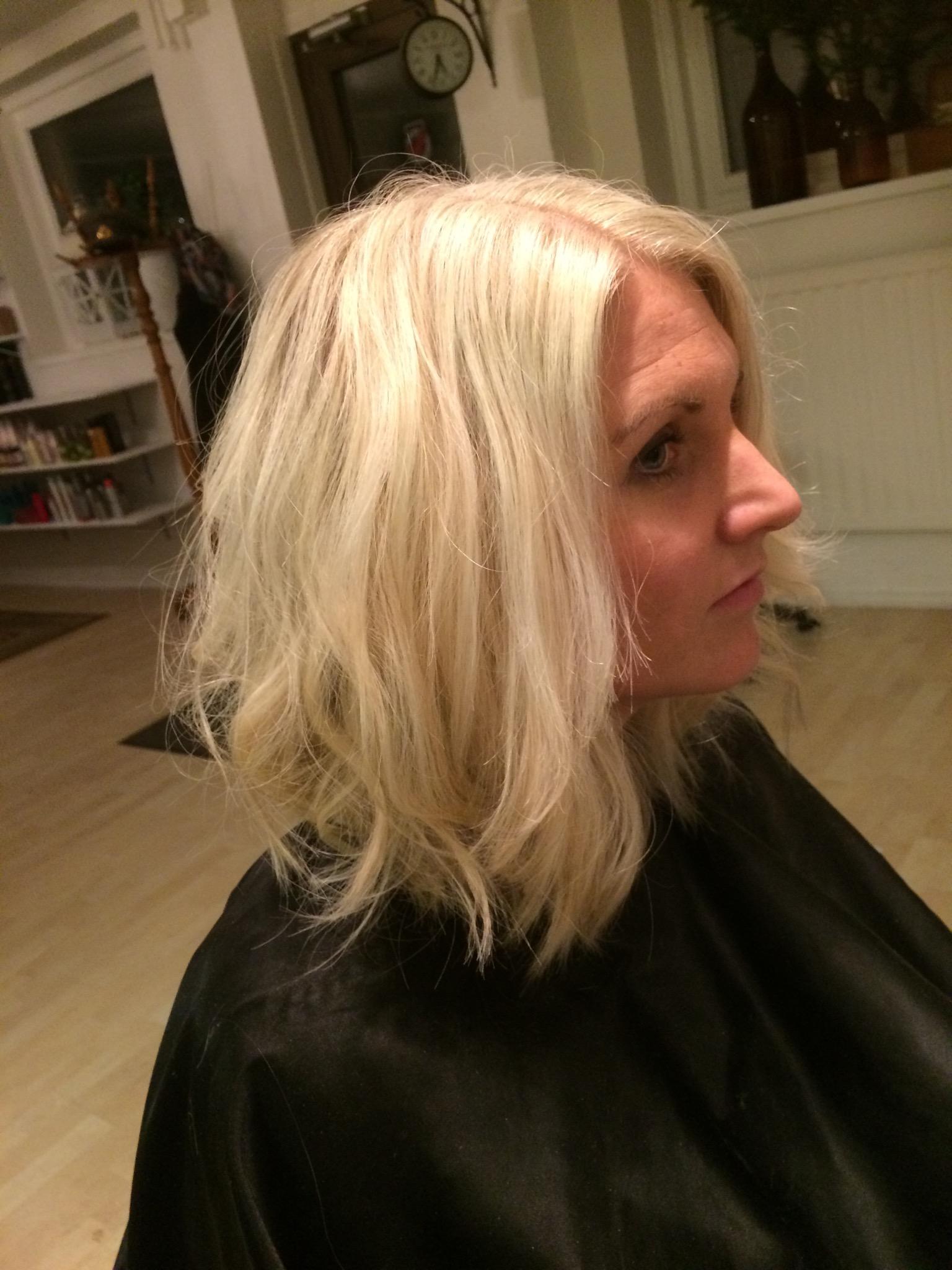 blonde page